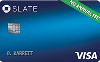 Chase Slate® credit card review