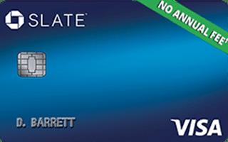 Chase Slate® credit card