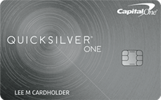 Capital One® QuicksilverOne® Cash Rewards Credit Card review