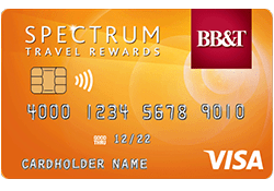 BB&T Spectrum Travel Rewards Secured Credit Card
