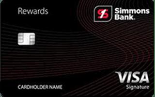 Simmons Rewards Visa Signature® review