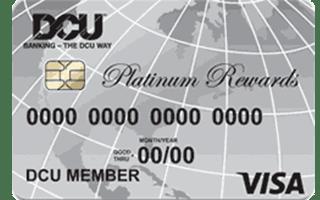 DCU Visa® Platinum Rewards Credit Card review