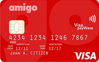 South West Credit Amigo Visa Card
