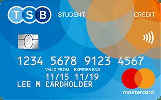 TSB Student Credit Card