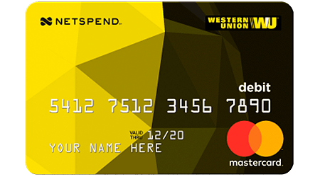 Western Union Netspend Mastercard Review 2021 Finder Com