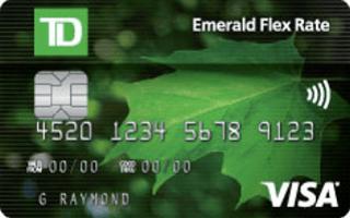 TD Emerald Flex Rate Visa Card Review