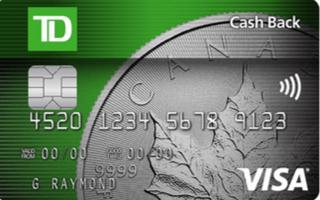 TD Cash Back Visa Card Review