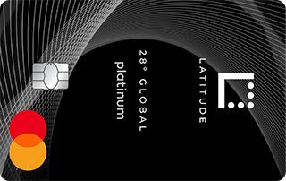 Latitude 28° Global Platinum Mastercard