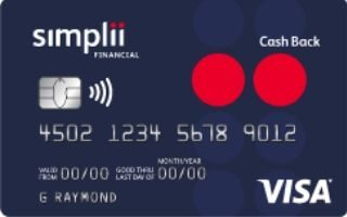 Simplii Financial Cash Back Visa Card