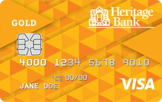 Heritage Bank Gold Low Rate Credit Card