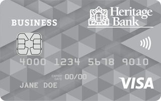 Heritage Bank Business Visa Credit Card