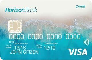 Horizon Bank Visa Credit Card