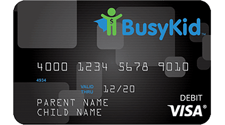 BusyKid Visa Prepaid Spend Debit Card review