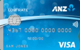 ANZ Low Rate Visa Credit Card image