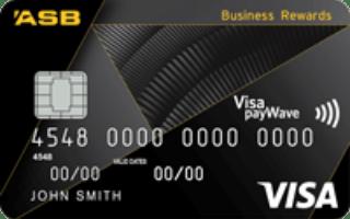 ASB Visa Business Rewards credit card