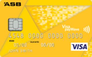 ASB Visa Rewards credit card