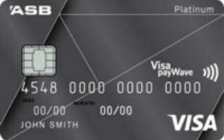 ASB Visa Platinum Rewards credit card