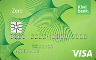 Kiwibank Zero Visa credit card