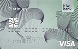 Kiwibank Platinum Visa credit card