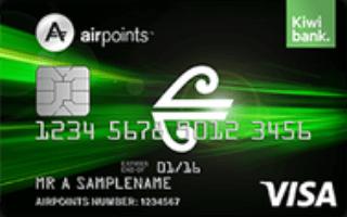 Kiwibank Air New Zealand Airpoints Standard Visa Review
