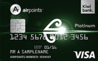 Kiwibank Air New Zealand Airpoints Platinum Visa image