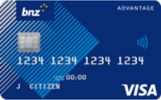 BNZ Advantage Classic credit card