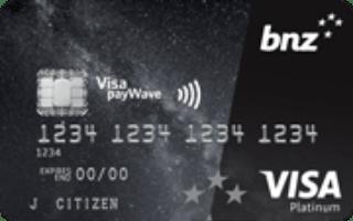 BNZ Advantage Visa Platinum Credit Card