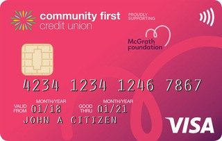 Community First Low Rate Pink credit card