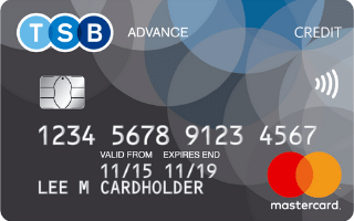 TSB Advance Mastercard review 2020