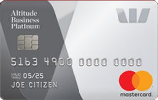 Westpac Altitude Business Platinum Credit Card