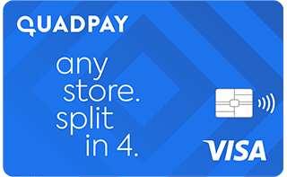 QuadPay Visa Card review: Buy now, pay over six weeks