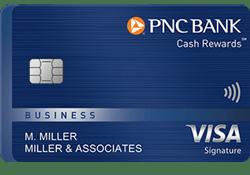 PNC Cash Rewards® Visa Signature® Business Credit Card