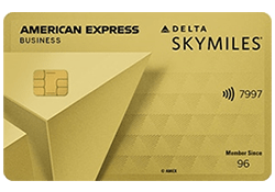 Delta SkyMiles® Gold Business American Express Card logo