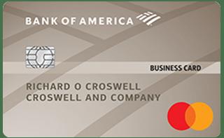 Bank of America® Platinum Visa Business credit card review