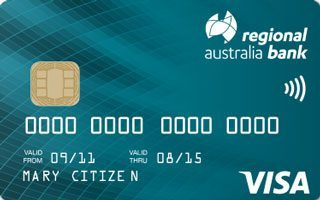 Regional Australia Bank Your Choice Credit Card