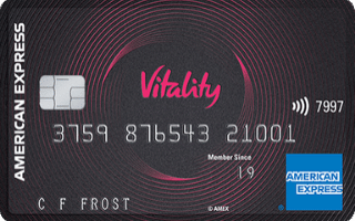 Vitality American Express Credit Card review September 2020
