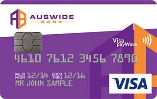 Auswide Bank Low Rate Credit Card