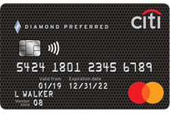Citi® Diamond Preferred® Card logo