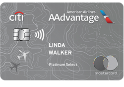 Citi® / AAdvantage® Platinum Select® World Elite™ Mastercard® logo