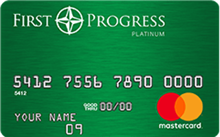 First Progress Platinum Elite MasterCard® Secured Credit Card: No minimum credit score required