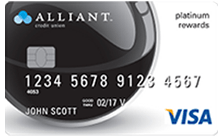 Alliant Visa® Platinum Rewards Card review
