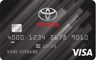 Toyota Rewards Visa credit card review