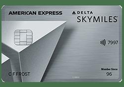 Delta SkyMiles® Platinum American Express Card logo