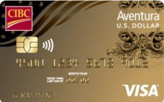 CIBC US Dollar Aventura Gold Visa Card review