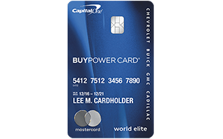 GM BuyPower Card® review