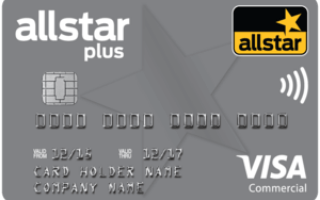 Allstar Plus 'All-in-one' Business Credit and Fuel Card