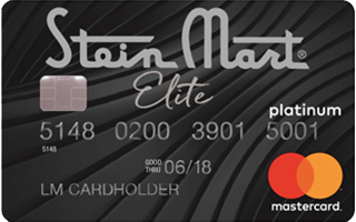 Stein Mart Platinum Mastercard® review