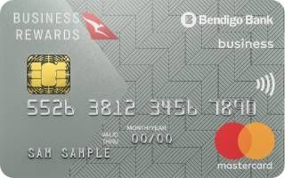 Bendigo Bank Qantas Business Credit Card
