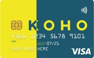 KOHO Prepaid Visa card review