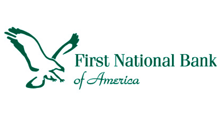 First National Bank of America Online CD logo